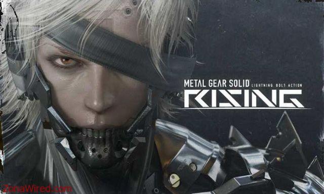 Metal Gear Solid Rising para noviembre de 2012