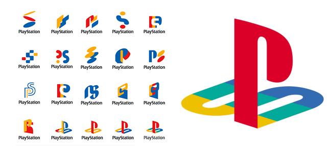 Prototipos del logo de PlayStation