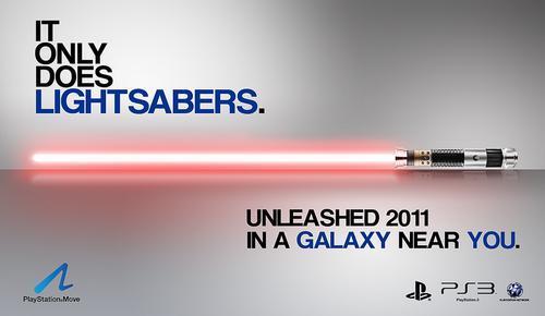 El sable de luz de Move será mejor que el de Kinect según Sony