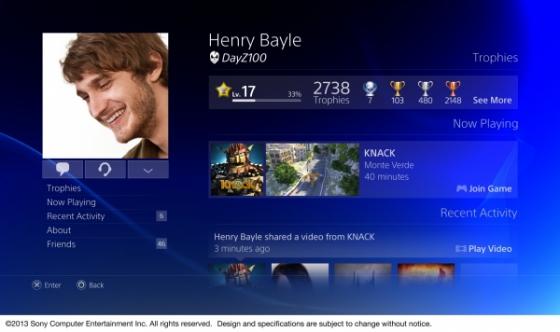Nuevos detalles de la interfaz de usuario de PS4 y la nueva PS Store