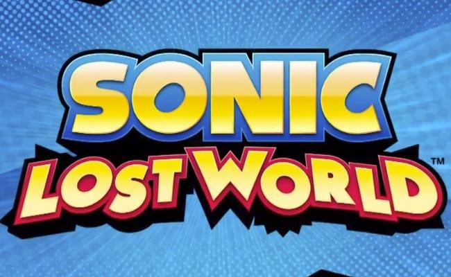 Sonic Lost World exclusivo para Wii U y 3DS