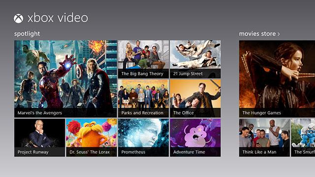 Llega el servicio web de Xbox Video