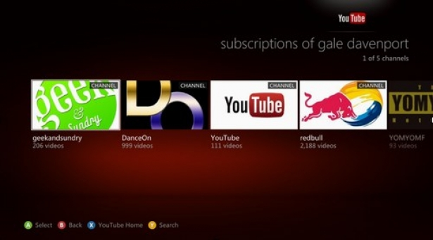 La aplicación YouTube aterriza en Xbox One