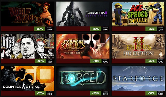 Décimo día de ofertas de Navidad en Steam