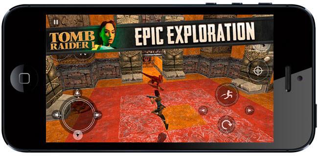 Tomb Raider de PSOne llega ahora a iOS