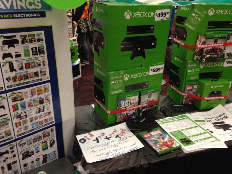 GameStop parece estar trabajando muy duro para vender Xbox One