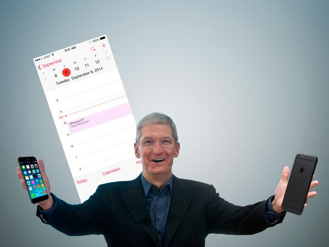 Apple podría presentar el iPhone 6 el 9 de septiembre