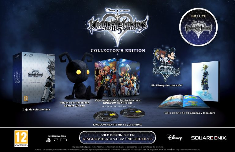 Anunciada la Collector's Edition de Kingdom Hearts 2.5 HD Remix