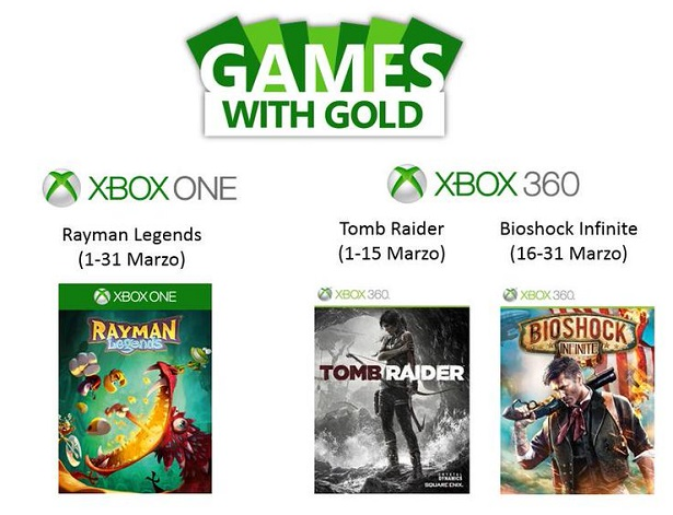 games with gold marzo 2015