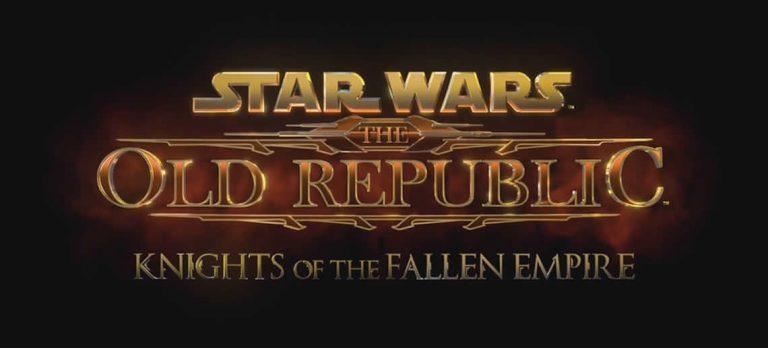 EA anuncia Star Wars: Knights of the Fallen Empire #E32015
