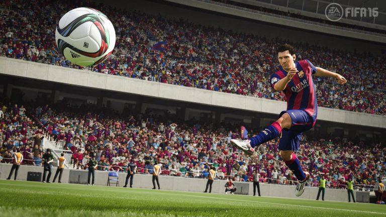 FIFA 16: nuevo gameplay entre PSG vs Barcelona