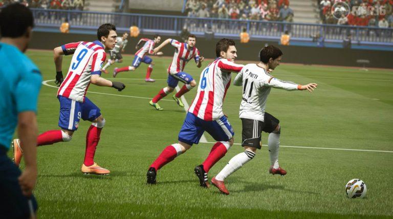 Nuevo tráiler de FIFA 16 mostrando las mejoras en la jugabilidad