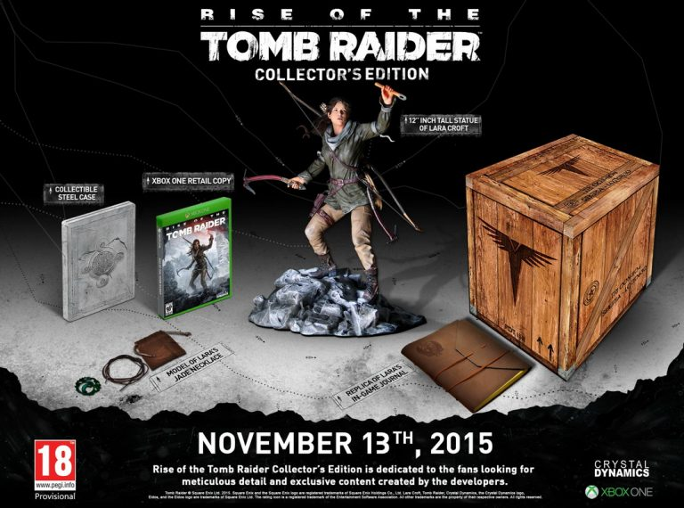 Rise of the Tomb Raider presenta su espectacular Edición Coleccionista para Xbox One