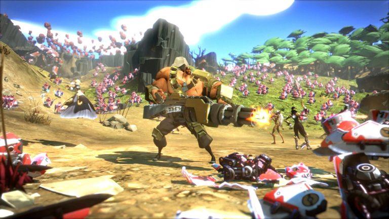 2K anuncia el tráiler de adiestramiento de Battleborn