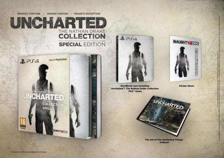 Uncharted: The Nathan Drake Collection contará con una exclusiva edición especial