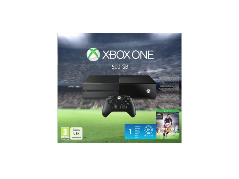 El Pack Xbox One 500 GB con FIFA 16 ya está disponible