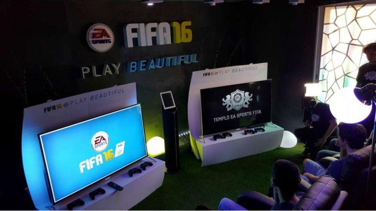 EA Sports inaugura el Templo FIFA en Madrid