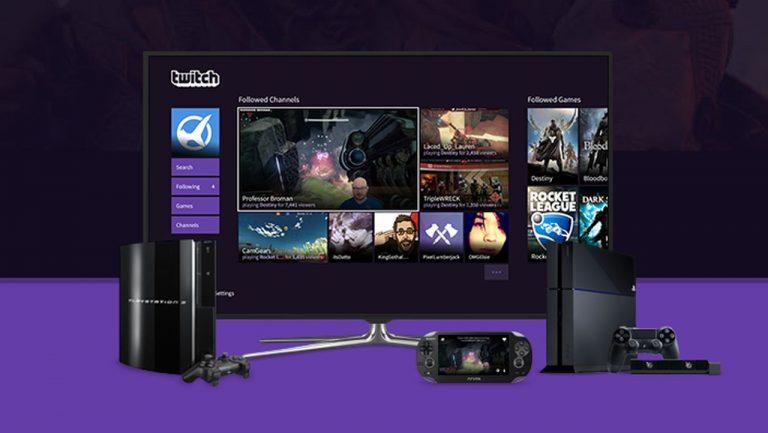 Disponible la aplicación de Twitch para PS4