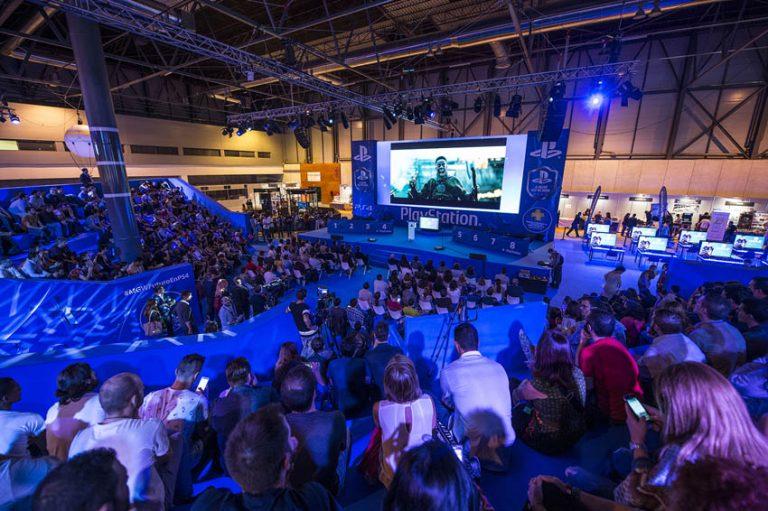 El stand de PlayStation abre sus puertas a los jugadores en Madrid Games Week