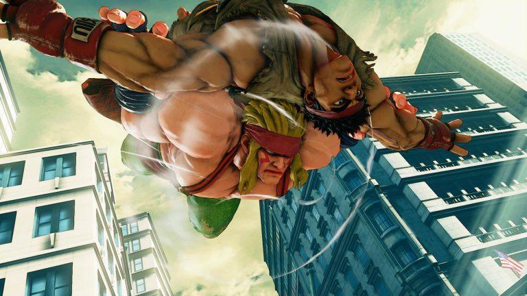 Alex se suma al elenco de luchadores de Street Fighter V