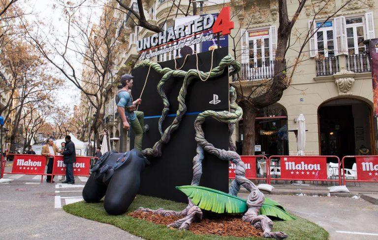 Así se salvó la PS4 20º Aniversario de las Fallas de Valencia