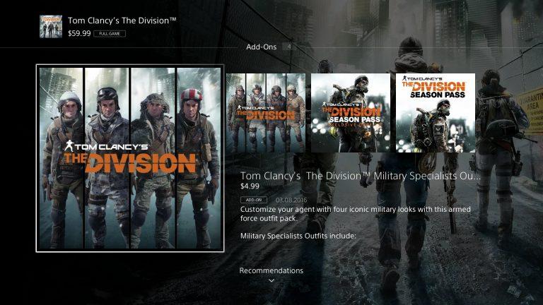 Filtrado el nuevo diseño de la PlayStation Store
