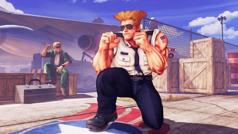 Las patadas voladoras de Guile se abren paso en Street Fighter V